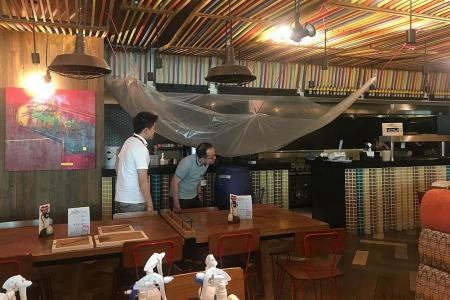 Shutters down at two restaurants in T2 after airport fire