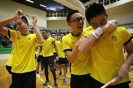 VJC stun floorball kingpins RI