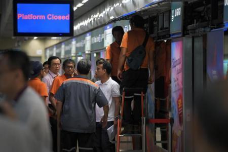 Water leakage caused MRT platform door glitch at Botanic Gardens station