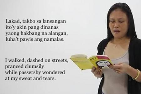 She writes to relieve homesickness