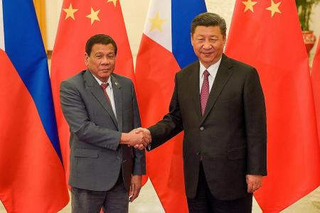 Duterte claims Xi threatened war over South China Sea