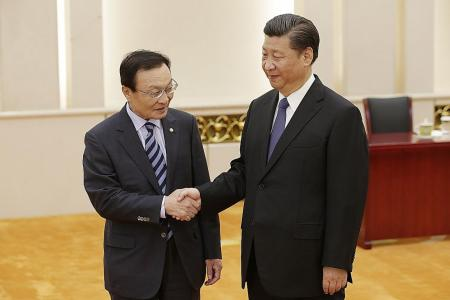 China willing to mend relations with S. Korea