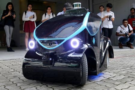 Meet the new security robot
