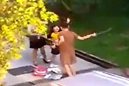 Mother in viral caning video apologises and says she will seek counselling