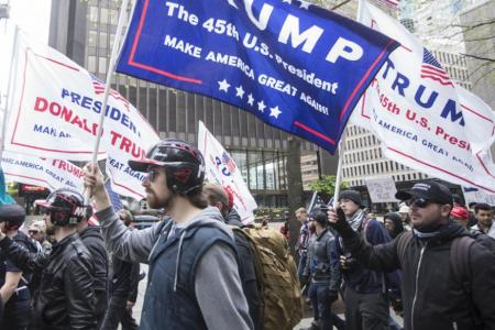 Trump supporters unwavering amid US President's crisis