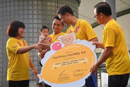 FairPrice to spend $14 million to help parents with newborns