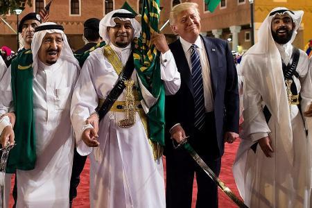 Muslim countries must lead anti-terrorism battle: Trump