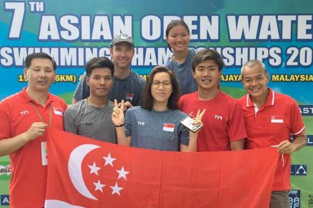 'Enlightening' trip for Singapore's open-water swimmers in KL