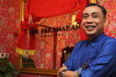 Treating hotline callers to Peranakan food