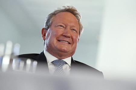 Aussie tycoon gives $414m to charity