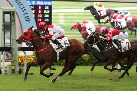 Chung Wah Spirit gives Purton 700th win