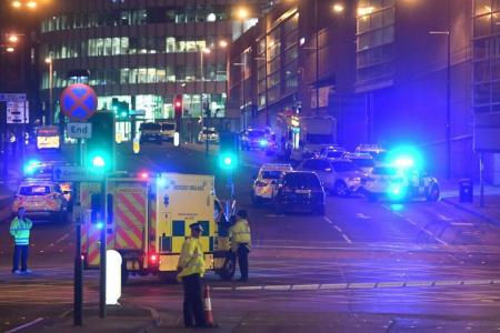 Celebs react to Manchester blast