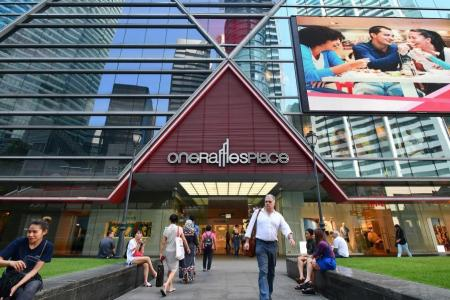 Many tenants moving out of One Raffles Place mall