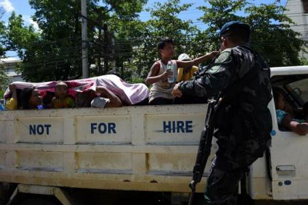Duterte threatens martial law across the Philippines
