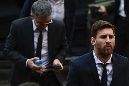 Spain's Supreme Court confirms Messi's sentence