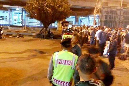 Jakarta rocked by twin blasts