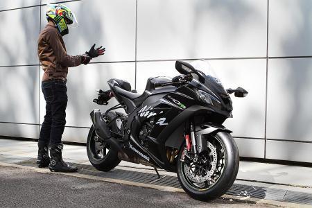 Race-ready Superbike