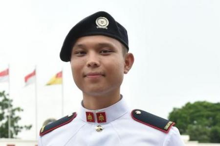 'Nomad' takes on National Service to become Singapore citizen, achieves Golden Bayonet