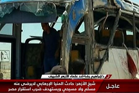 Gunmen kill 26 Egyptian Christians in bus attack