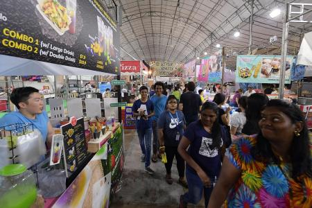 Bazaar opens for business