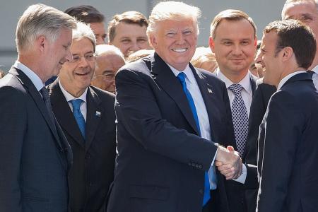 Trump lambasts Nato allies