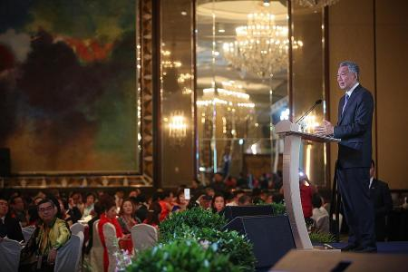 Tech can help clans reach the young: PM Lee