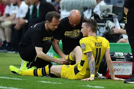 Reus out for months after tearing cruciate ligament