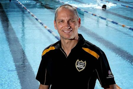 Widmer to begin national swim coach duties from July
