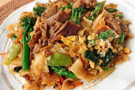One-pot Thai-style noodles