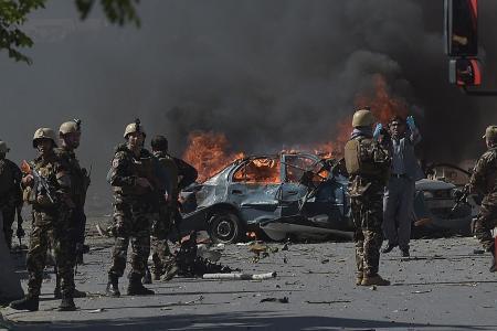 Vehicle bomb carnage in Kabul