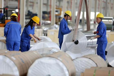 China's manufacturing steady