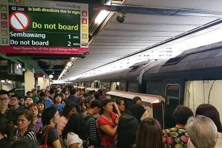 North-South Line hit by long delays