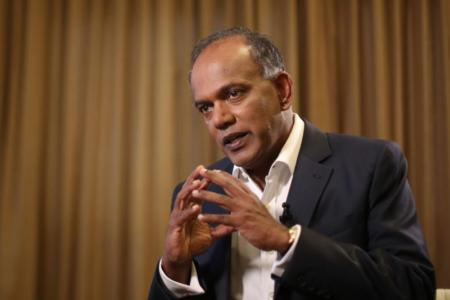 Home Affairs and Law Minister K. Shanmugam urged Singaporeans to tell the authorities if a family member or friend is being led astray by extremist ideology