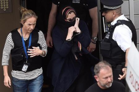 UK police arrest 12 in east London