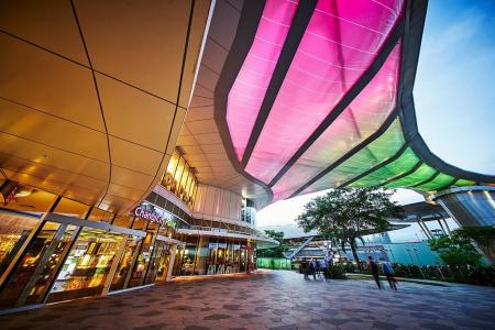 Fun for all at Changi mall