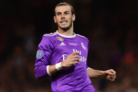 Bale happy at Real