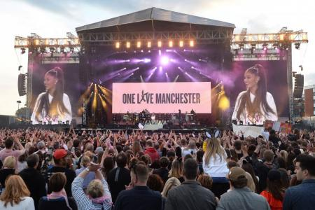 Hope conquers fear at One Love Manchester benefit concert
