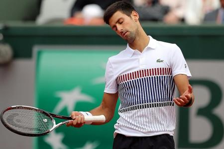 Djokovic considering a break after shock exit