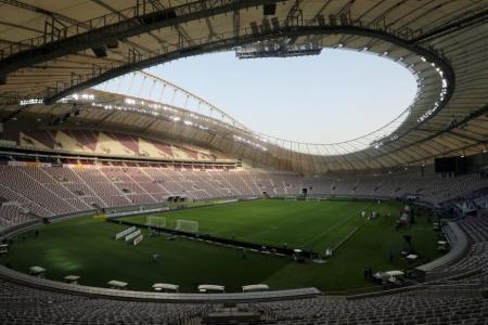 the Khalifa International Stadium in Doha, Qatar,