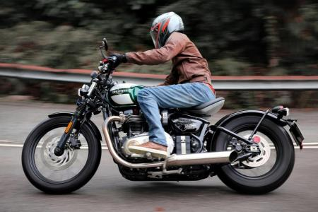 Factory-made Bobber with custom looks