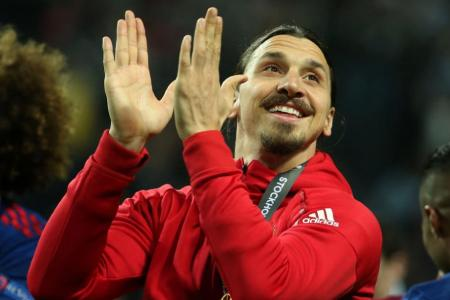 zlatan out at Manchester United