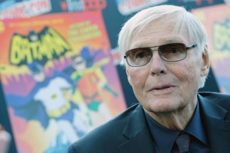Adam West, star of hit TV series Batman, dies at 88