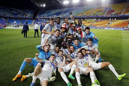 England's young stars rule the world, but must progress to senior team