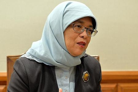 Halimah to Singapore businesses: Look to Kazakhstan for opportunities