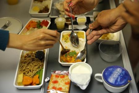 The plain truth about plane food