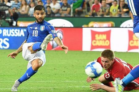 Italy 5 Liechtenstein 0: Insigne and Belotti shine in easy win