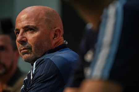 Sampaoli vows to go all out against Singapore