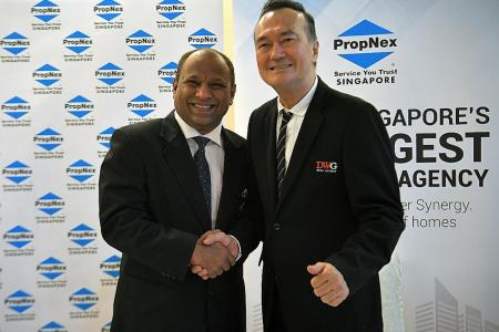 PropNex and DWG merging to form the largest real estate agency in Singapore