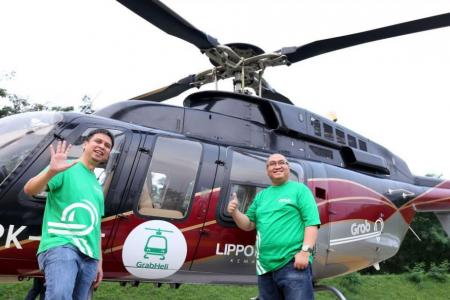 Grab may offer rides on helicopters in Jakarta