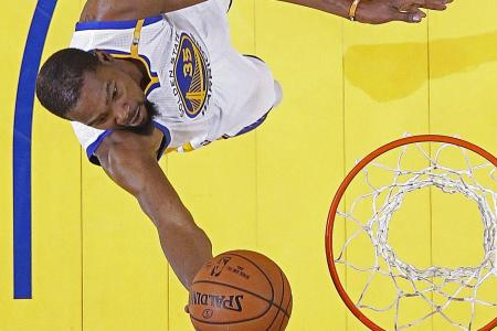 MVP Durant vindicates decision to join Warriors